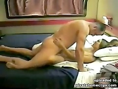 Two boys bring one babe to the strongest orgasm